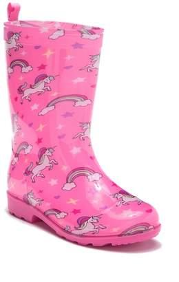 Capelli of New York Unicorns in the Sky Rain Boot (Little Kid & Big Kid)
