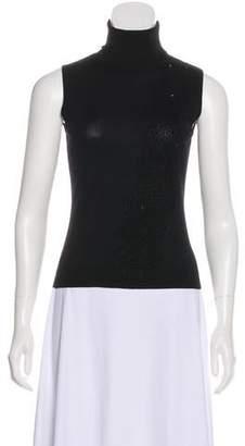 Balmain Knit Turtleneck Top