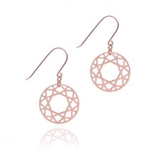 Myia Bonner Rose Gold Brilliant Diamond Drop Earring