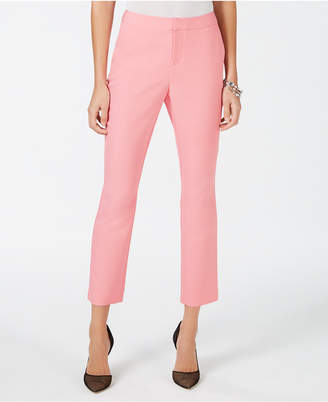INC International Concepts I.n.c. Cropped Straight-Leg Pants