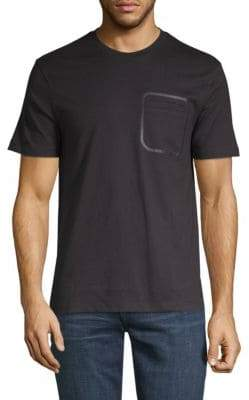 Taped Pocket Cotton Tee