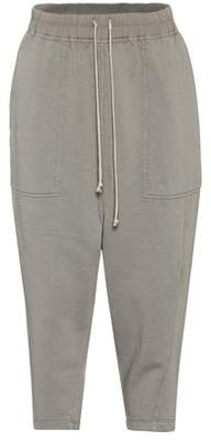 Rick Owens (リック オウエンス) - Rick Owens DRKSHDW cropped cotton track pants