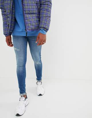 Dr. Denim Kissy extreme muscle jeans in vagabond blue