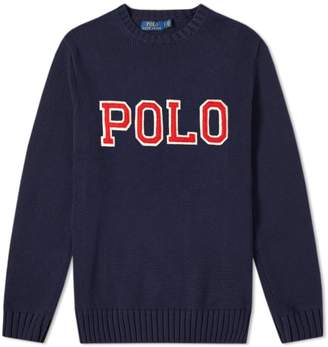Polo Ralph Lauren Polo Applique Logo Crew Knit
