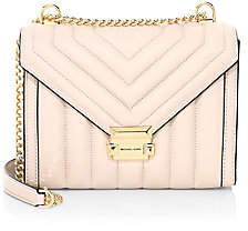Michael Kors Women's Large Whitney Quilted Leather Shoulder Bag