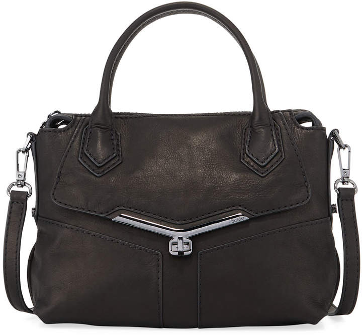 Botkier Valentina Brushed Leather Satchel Bag