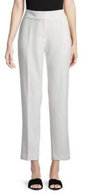 Kasper Suits Solid Stretch Crepe Pants
