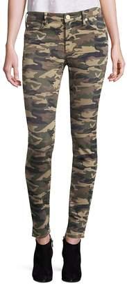 True Religion Women's Halle Camo Super Skinny Jeans