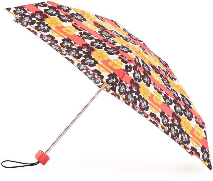 Hunter Boot Original Floral & Stripe Mini Compact Umbrella