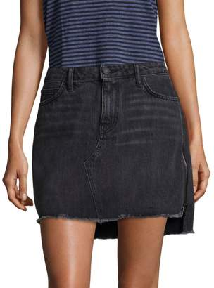 953c6ec53 Sandrine Rose Denim Five-Pocket Mini Skirt