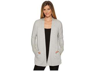 Beyond Yoga Love and Fleece Hooded Cardigan