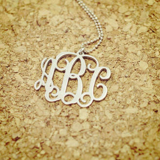 Anna Lou of London Personalised Monogram Necklace