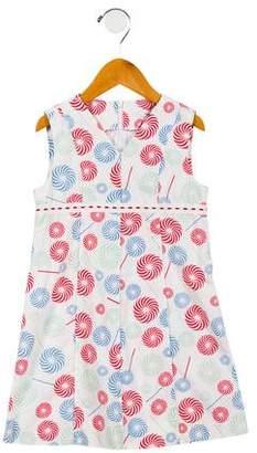 Cacharel Girls' A-Line Sleeveless Dress