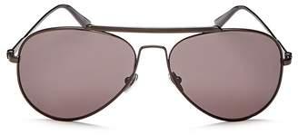 Calvin Klein Men's Aviator Sunglasses, 58mm