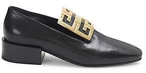 Women's 4G Ornament Leather Loafers