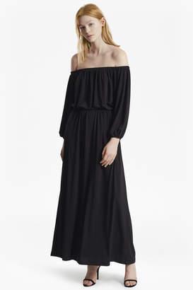 55db7905548 French Connection Black Off The Shoulder Dresses - ShopStyle UK