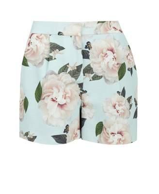 cb8774494 Ted Baker Magnificent Print Dress Shorts Colour  MINT