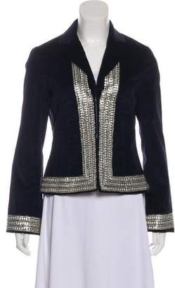 Tory Burch Embellished Velvet Blazer
