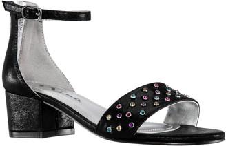 Nina Girl's Block Heel Ankle Strap Sandals - Magdalena