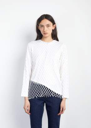 Marques Almeida Marques ' Almeida Jersey Net Long Sleeve Top