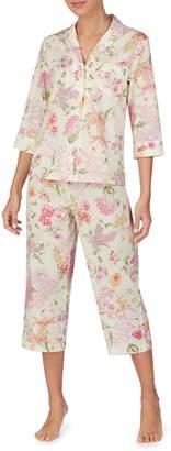 Lauren Ralph Lauren 2-Piece Checked Cotton Pyjama Set
