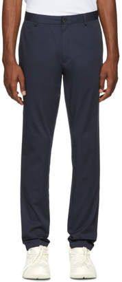 Burberry Navy Shibden Chino Trousers