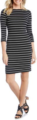 Karen Kane Stripe Body-Con Dress