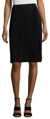Lois Pleated Midi Skirt