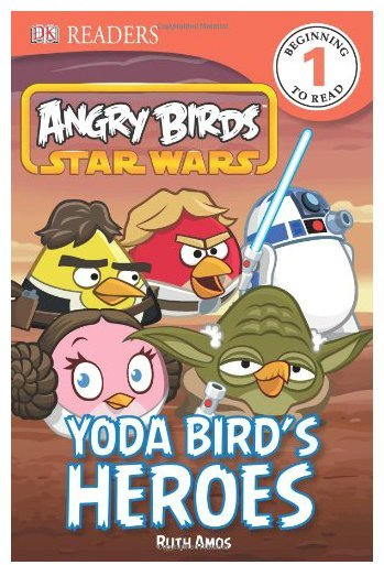 DK Publishing Angry Birds Star Wars: Yoda Bird's Heroes