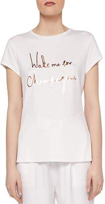 Ted Baker Ted Says Relax Lolyata Graphic Tee