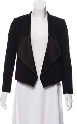 Alice + Olivia Structured Open Front Jacket