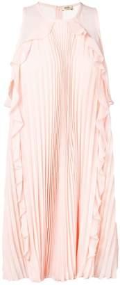Liu Jo plisse sleeveless mini dress