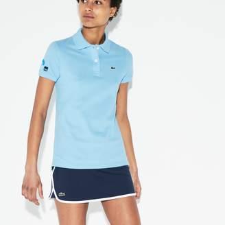 Lacoste Women's SPORT Miami Open Petit Pique Tennis Polo