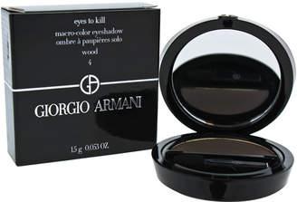 Giorgio Armani 0.053Oz #04 Wood Eyes To Kill Macro-Color Eyeshadow