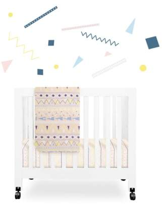 Babyletto 'Desert' Mini Crib Sheet, Changing Pad Cover, Stroller Blanket & Wall Decals