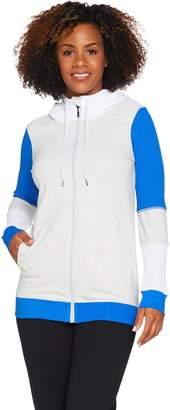 Cee Bee Cheryl Burke cee bee CHERYL BURKE Color-Block Hooded French Terry Jacket