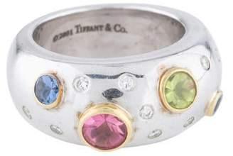 Tiffany & Co. Diamond & Multistone Etoile Band