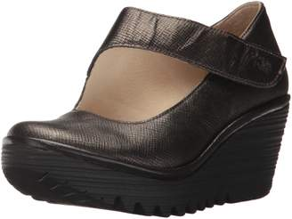 Fly London Womens YASI682FLY Luxor Leather Shoes 8-8.5 US