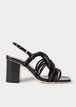 Paul Smith Women's Black Suede 'Carla' Sandals