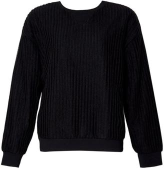 Motel Rocks Ladder Black Sweatshirt $79 thestylecure.com