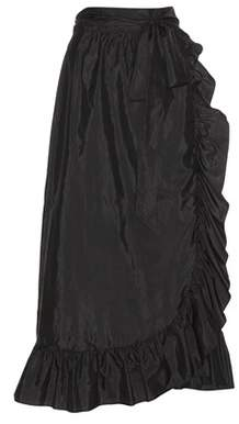 Isabel Marant Alda silk-blend wrap skirt