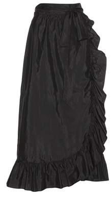 Isabel Marant Alda silk-blend wrap skirt