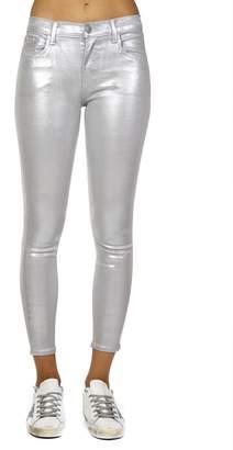 J Brand Silver Cotton Jeans