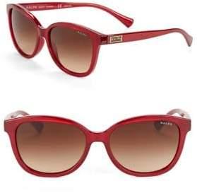 Ralph Lauren 56MM Wayfarer Sunglasses