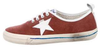 Golden Goose Suede California Low-Top Sneakers w/ Tags