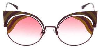 Fendi Cat-Eye Tinted Sunglasses w/ Tags