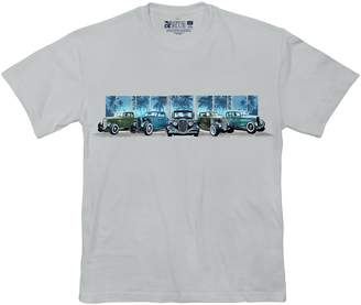 Newport Blue Big & Tall Vintage Vehicle Graphic Tee