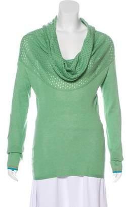 Stella McCartney Funnel Neck Lightweight Sweater