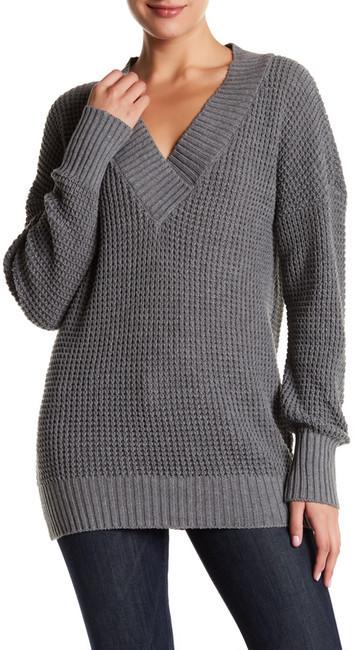Abound V-Neck Tunic Sweater