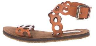 Stella McCartney Perforated Leather Sandals